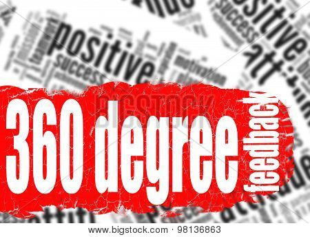 Word Cloud 360 Degree Feedback
