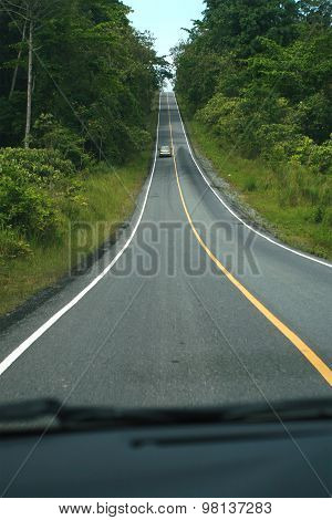 road in Thailand