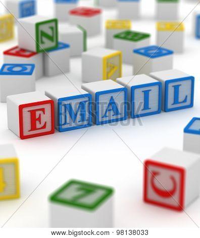 Colorful Block - E-mail