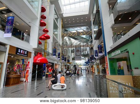 Interior View Marina Square Shopping Mall