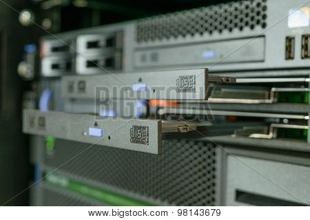 Server And Cd Or Dvd Drive