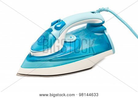 Iron Housework Ironed Electric Tool Clean White Background