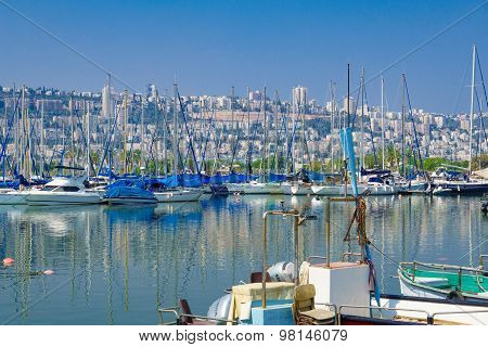 Shavit Anchorage, Haifa