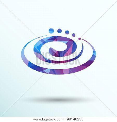 Hygienic cream top view vector illustration Cream particles icon
