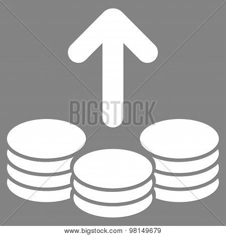 Payout Flat Icon From Commerce Set