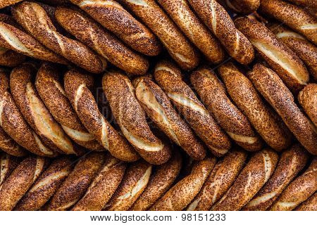 Simit, Traditional Turkish Bagels