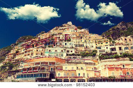 Italy , Amalfi coast , Positano ,