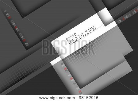 corporate vector layout