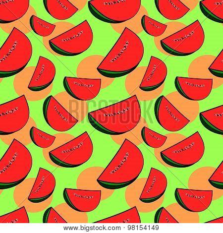 The Watermelon (seamless Pattern)