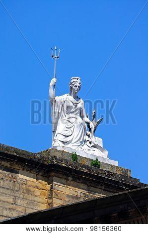 Statue of Britannia, Liverpool.