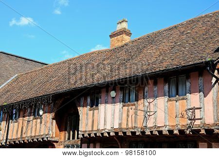 Timber framed building, Coventry.