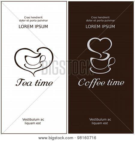 Cofee time and tea time