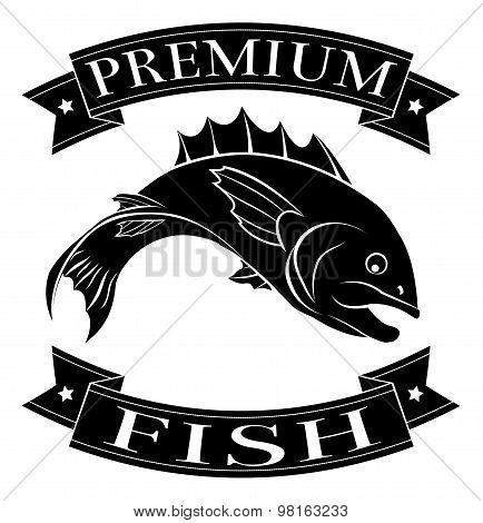 Premium Fish Icon