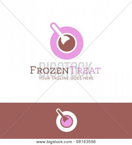 logo design for ice cream or food related business