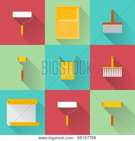 Home Repair Flat Icons