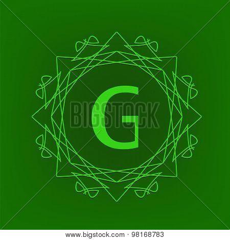 Simple  Monogram G