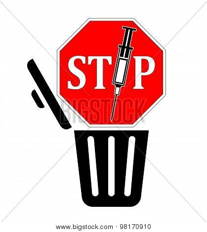Stop Disposing Syringes In The Trash
