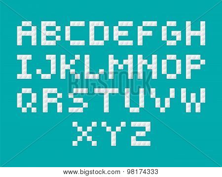 Constructor  Letters White