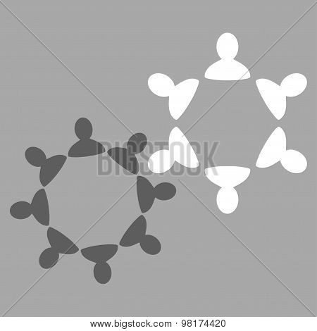 Collaboration Icon from Commerce Set