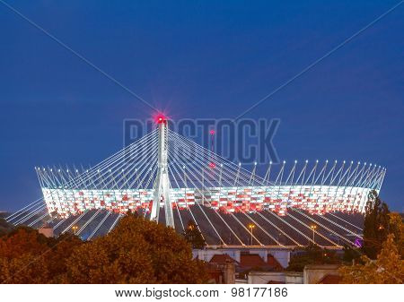 Warsaw. The National Stadium.