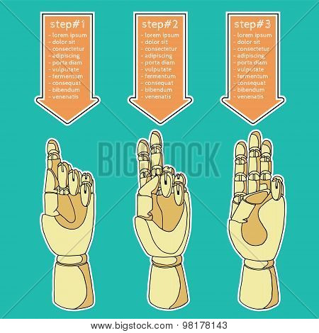 wooden hands 4