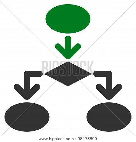 Flowchart Icon from Commerce Set