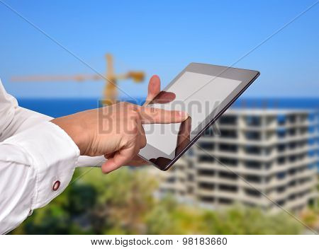 Hand Pusning Touch Pad