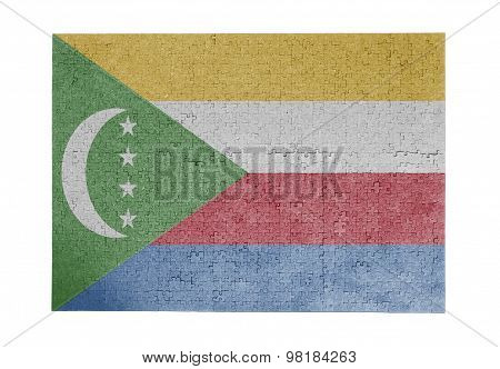 Large Jigsaw Puzzle Of 1000 Pieces - Comoros