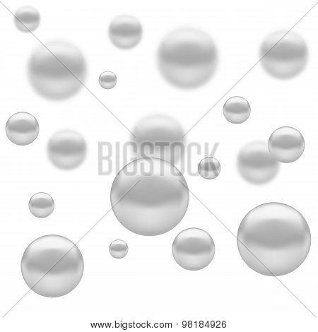 Set of Molecules Spheres