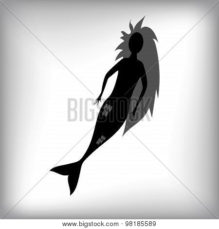 Mermaid Silhouette