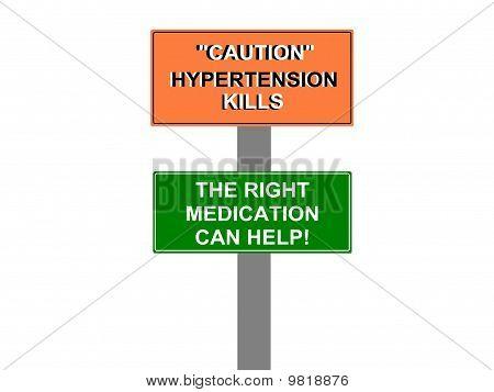 Hypertension Kills Sign
