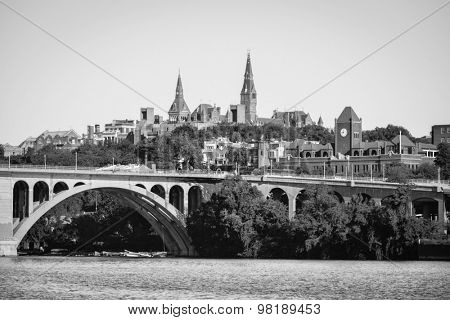 Washington DC - Georgetown and Key Bridge
