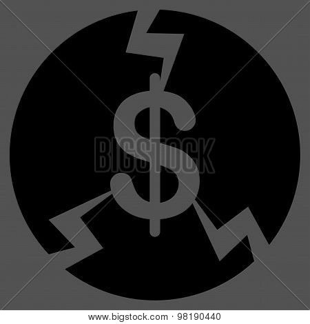Financial Crash Icon from Commerce Set
