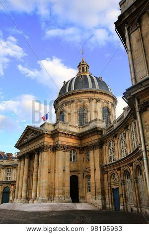 Institut De France (french Institute), In Paris, France