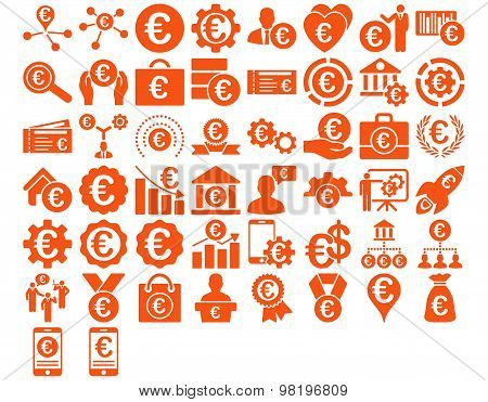 Euro Business Icons