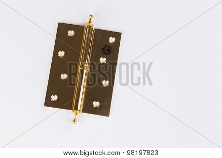 Door fittings, hinges.