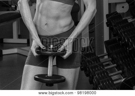 Power gym workout, women workout.