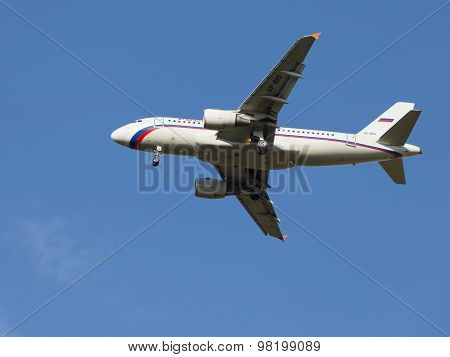 Passenger Plane Airbus A319, Russia