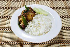 foto of crispy rice  - Rice and Stir - JPG