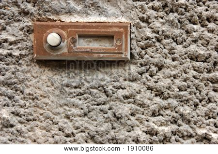 Old Rusty Doorbell