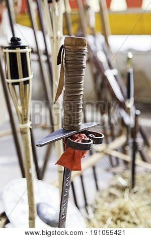 Old Medieval Swords