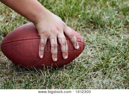 Hand On Football