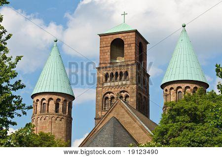 Back View Of Erlöser Kirche