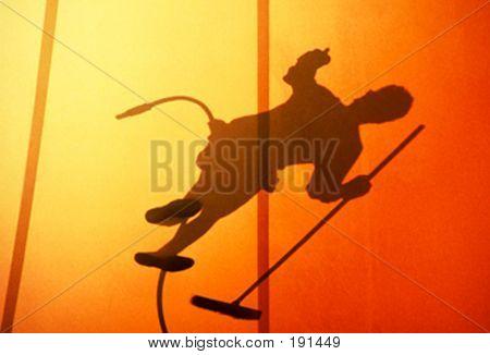 Workman's Shadow