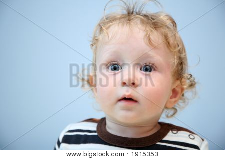 Child With The Widely Opened Eyes