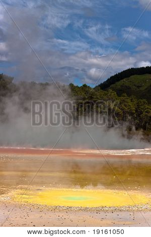 Geothermal Colorful Pool - New Zealand