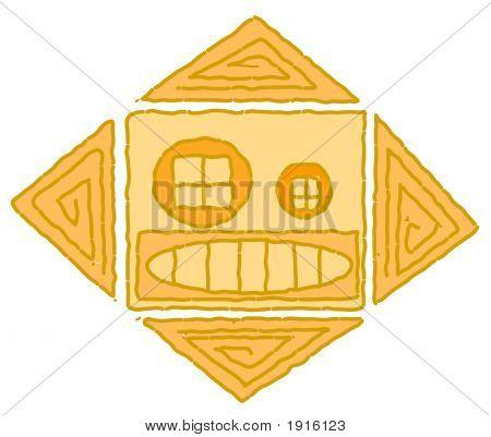 Amerindian Symbol - Sun