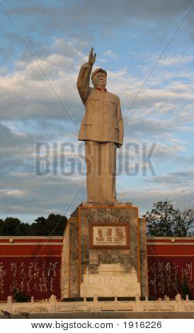 Mao Statue Lijiang, Yunnan, China