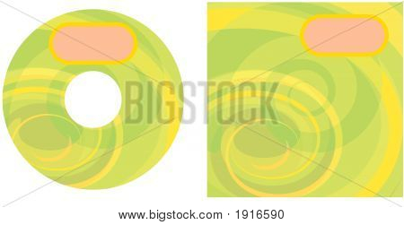 Cd Swirls Green