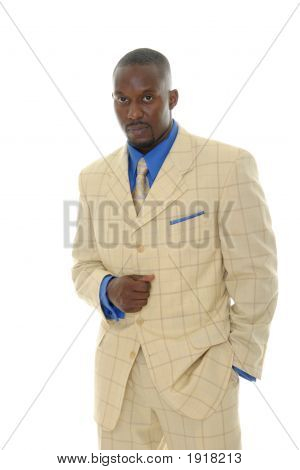 Man In Bright Suit